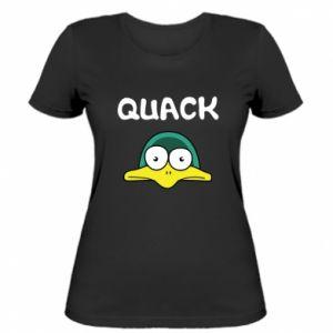 Women's t-shirt Quack - PrintSalon