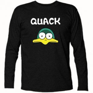 Long Sleeve T-shirt Quack - PrintSalon