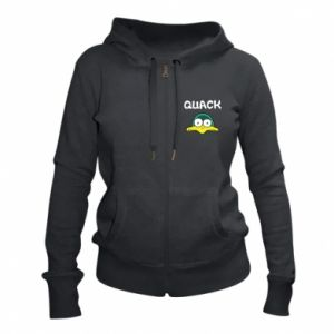 Women's zip up hoodies Quack - PrintSalon
