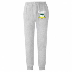 Męskie spodnie lekkie Quack - PrintSalon