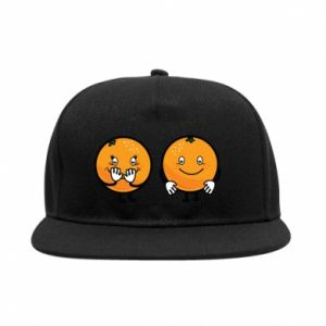 SnapBack Cheerful Oranges - PrintSalon