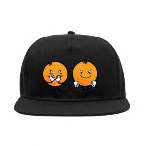 Snapback Wesołe pomarańcze
