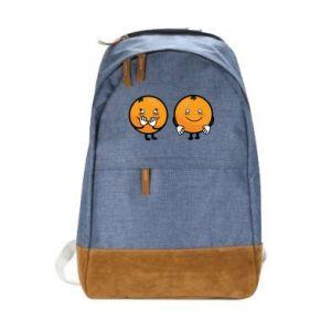 Miejski plecak Wesołe pomarańcze