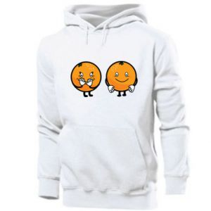 Men's hoodie Cheerful Oranges - PrintSalon
