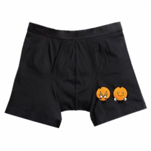 Boxer trunks Cheerful Oranges - PrintSalon