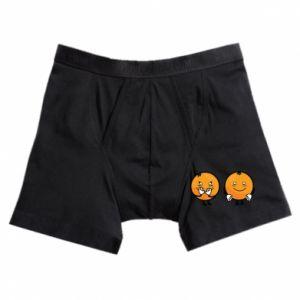Boxer trunks Cheerful Oranges
