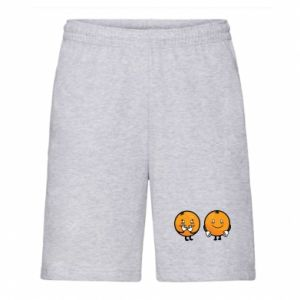 Men's shorts Cheerful Oranges - PrintSalon