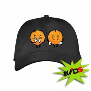 Dziecięca czapeczka z daszkiem Wesołe pomarańcze