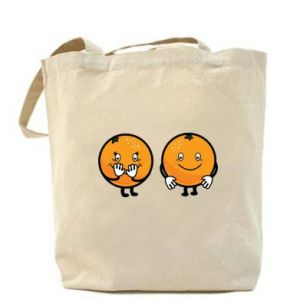 Bag Cheerful Oranges - PrintSalon