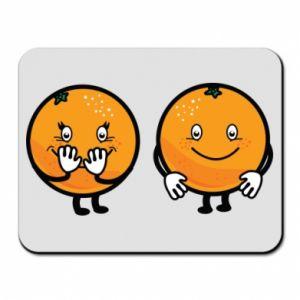 Podkładka pod mysz Wesołe pomarańcze