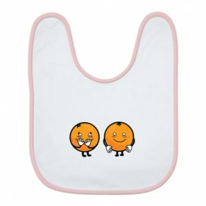 Bib Cheerful Oranges - PrintSalon