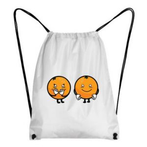 Backpack-bag Cheerful Oranges - PrintSalon