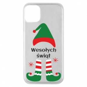 Phone case for iPhone 11 Pro Happy Holidays Elf