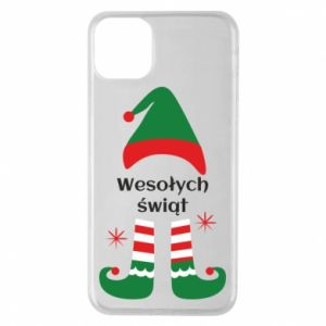 Phone case for iPhone 11 Pro Max Happy Holidays Elf
