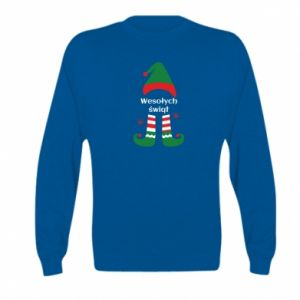 Kid's sweatshirt Happy Holidays Elf