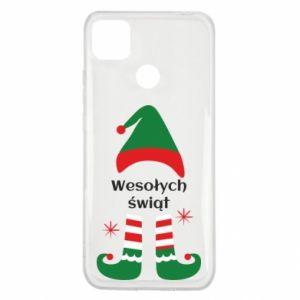 Xiaomi Redmi 9c Case Happy Holidays Elf