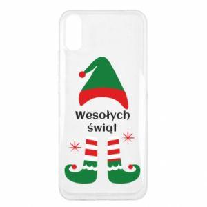 Xiaomi Redmi 9a Case Happy Holidays Elf