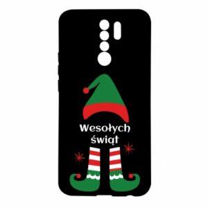 Xiaomi Redmi 9 Case Happy Holidays Elf