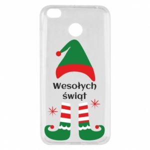 Xiaomi Redmi 4X Case Happy Holidays Elf