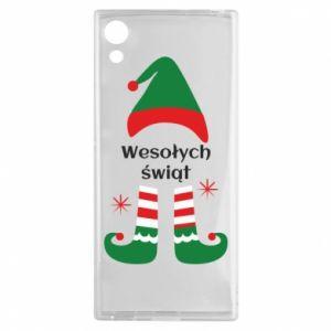 Sony Xperia XA1 Case Happy Holidays Elf