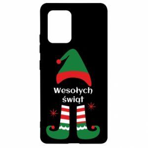 Samsung S10 Lite Case Happy Holidays Elf