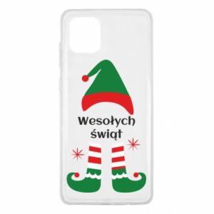 Samsung Note 10 Lite Case Happy Holidays Elf