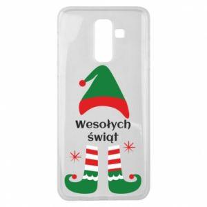 Samsung J8 2018 Case Happy Holidays Elf