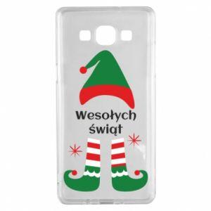 Samsung A5 2015 Case Happy Holidays Elf