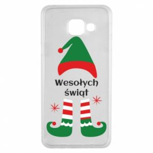 Samsung A3 2016 Case Happy Holidays Elf
