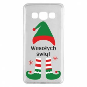 Samsung A3 2015 Case Happy Holidays Elf