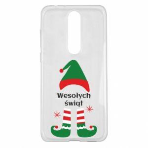 Nokia 5.1 Plus Case Happy Holidays Elf