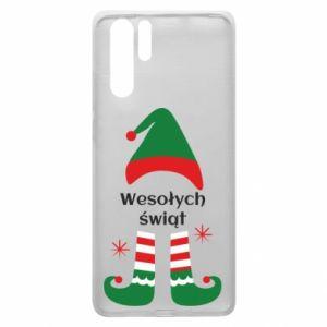 Huawei P30 Pro Case Happy Holidays Elf