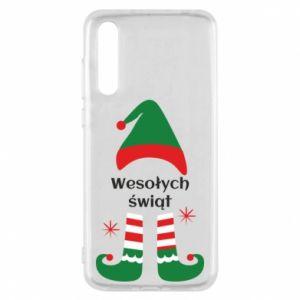 Huawei P20 Pro Case Happy Holidays Elf