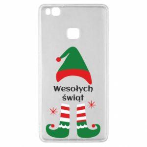 Huawei P9 Lite Case Happy Holidays Elf