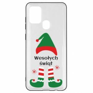 Samsung A21s Case Happy Holidays Elf