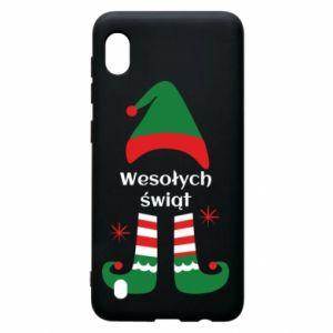 Samsung A10 Case Happy Holidays Elf