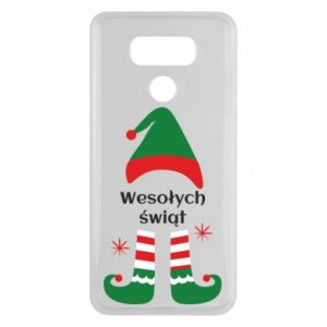 LG G6 Case Happy Holidays Elf