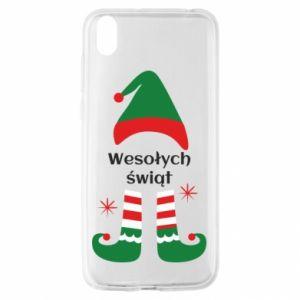 Huawei Y5 2019 Case Happy Holidays Elf