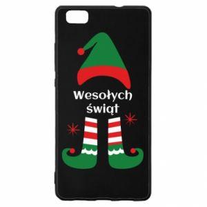Huawei P8 Lite Case Happy Holidays Elf