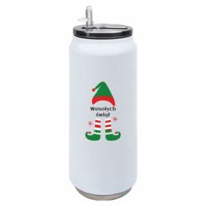 Puszka termiczna Wesołych Świąt Elf