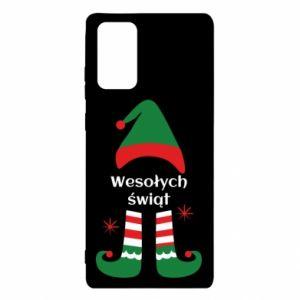 Etui na Samsung Note 20 Wesołych Świąt Elf