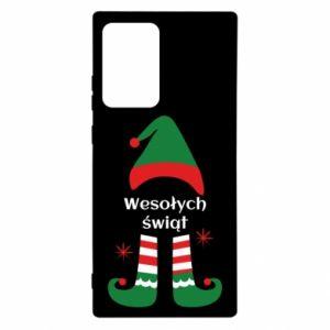 Etui na Samsung Note 20 Ultra Wesołych Świąt Elf