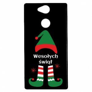 Etui na Sony Xperia XA2 Wesołych Świąt Elf
