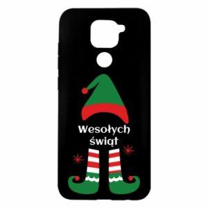Etui na Xiaomi Redmi Note 9/Redmi 10X Wesołych Świąt Elf