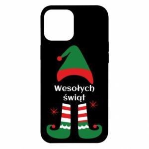 Etui na iPhone 12 Pro Max Wesołych Świąt Elf