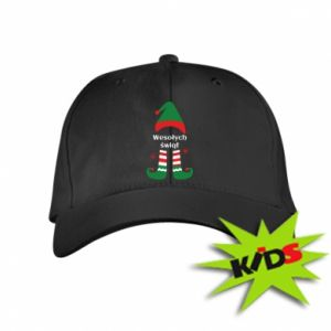 Kids' cap Happy Holidays Elf