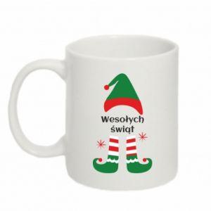 Mug 330ml Happy Holidays Elf