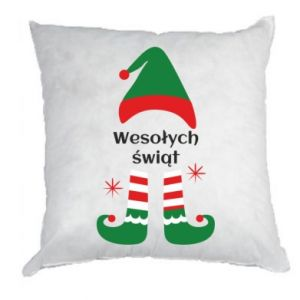 Pillow Happy Holidays Elf
