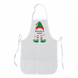 Apron Happy Holidays Elf