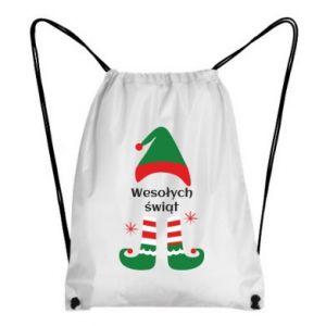 Backpack-bag Happy Holidays Elf